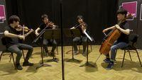 """""""Arirang"""" (air traditionnel coréen) par le Novus Quartet"""