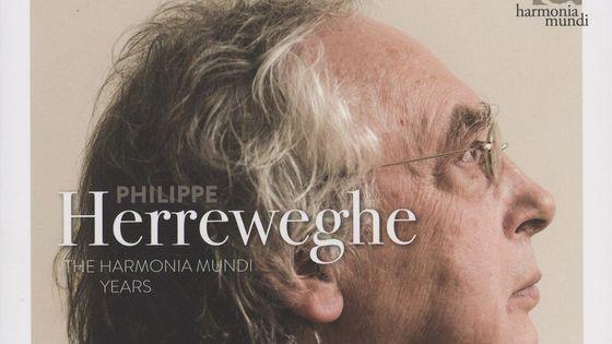 Philippe Herreweghe, chef d'orchestre HARMONIA MUNDI