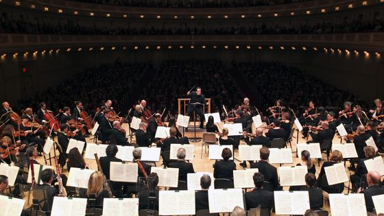 Andris Nelsons leading the Boston Symphony Orchestra in Mahler's 'Symphony No. 6' on Friday night, April 17, 2015