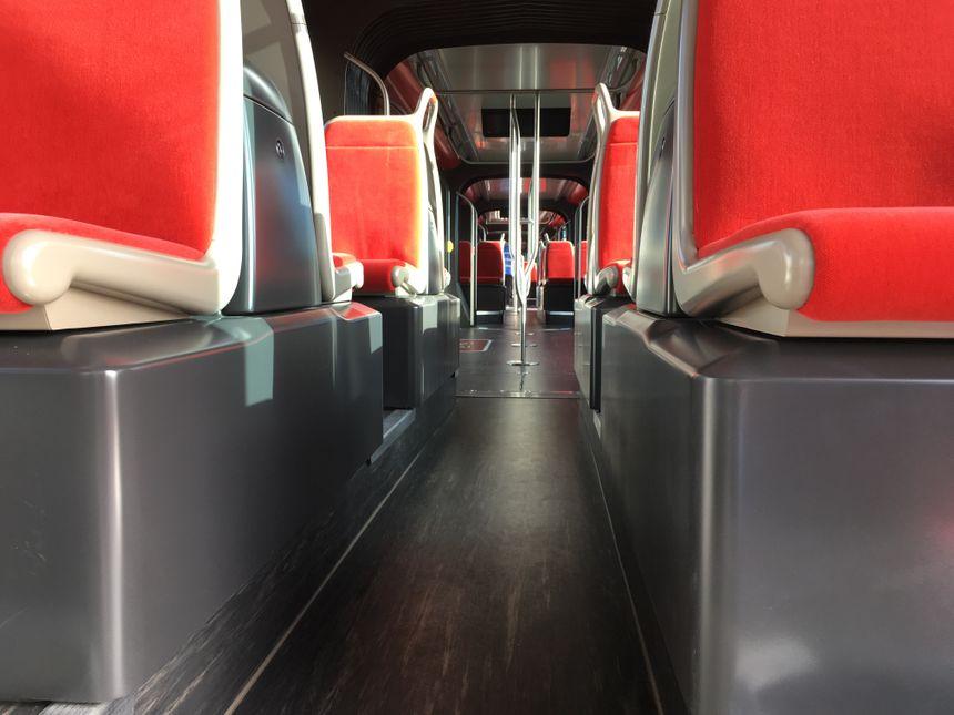 Nouveau design pour les sièges