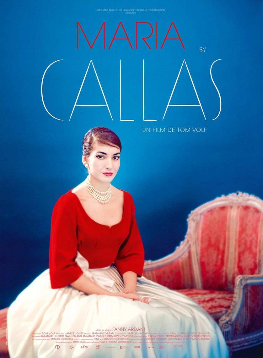 "Affiche du film ""Maria by Callas"" de Tom Volf"
