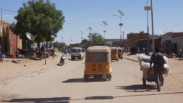 Dans les rues d'Agadez.