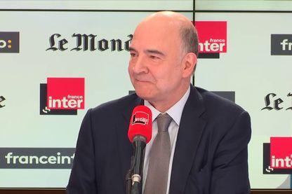 Pierre Moscovici est l'invité de France Inter