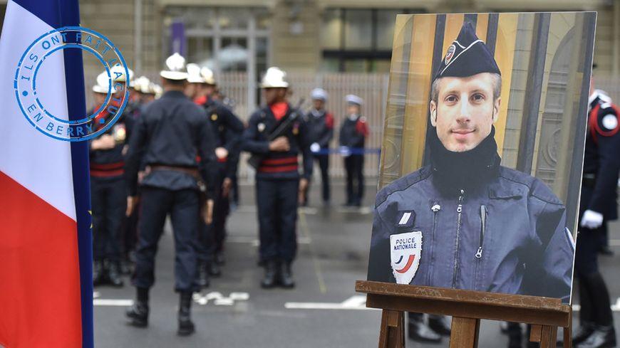 Le policier assassiné Xavier Jugelé