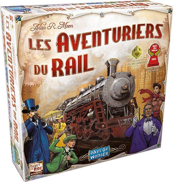 Les aventuriers du rail (days of wonder)