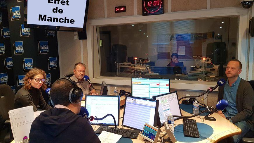 Mathilde Audic, Laurent Marie et Yves Deloison ont échangé avec passion sur l'actualité du moment.