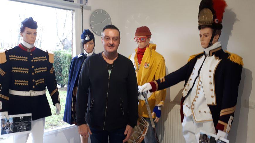Président des tambours majors de Dunkerque, Pascal Bonne, alias Cô Boont'che, ne comprend pas cette polémique et ses accusations de racisme.