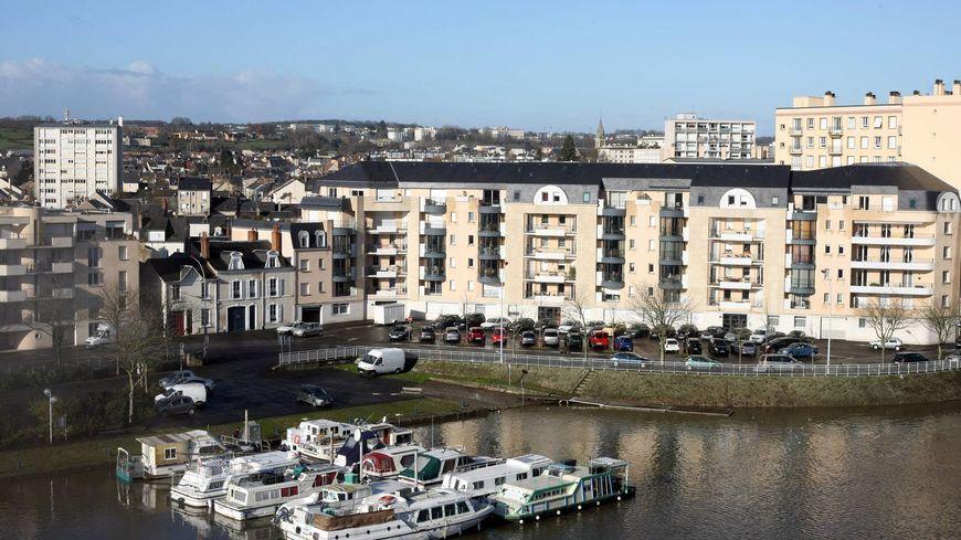 Le Mans (ici, le quartier du port) a gagné 700 habitants entre 2010 et 2015 selon les chiffres de l'INSEE