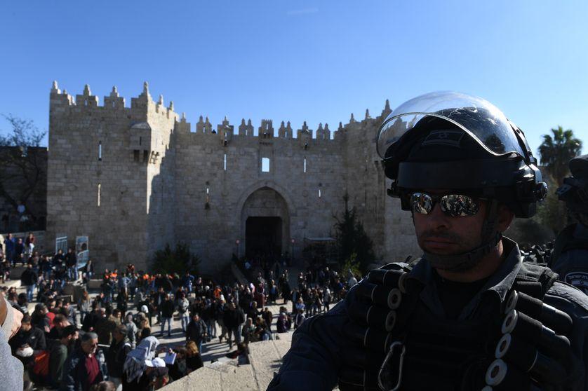 Renforcement de la sécurité à l'entrée de la vieille ville de Jérusalem