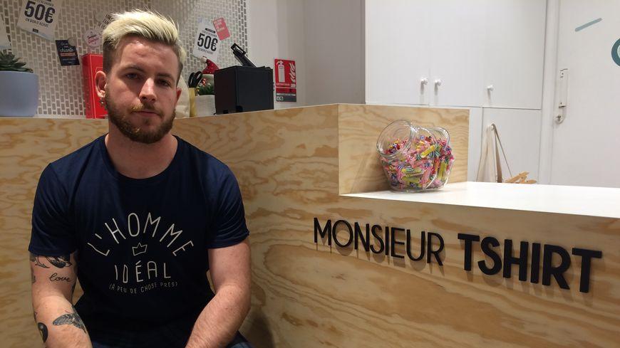 François, responsable du magasin de Bordeaux