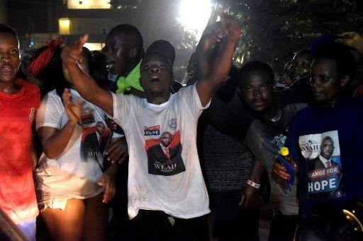 Joie des partisans de George Weah à Monrovia, la capitale du Libéria
