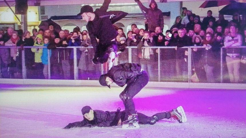 Maugan, Yohan et Alexandre participent pour la 3éme année aux spectacles de la Candeloro Show Compagnie