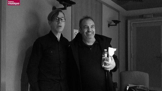 Renaud-Gabriel Pion et Bruno Letort au studio 151
