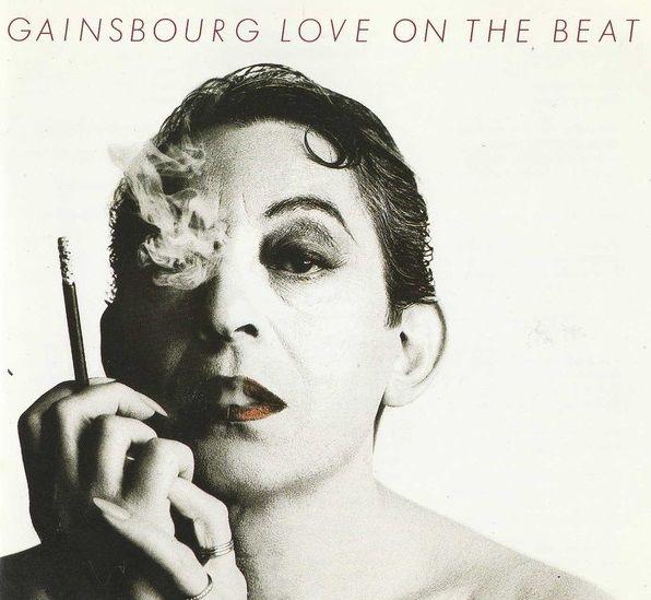"""Pochette du disque de Serge Gainsbourg """"Love on the beat"""""""