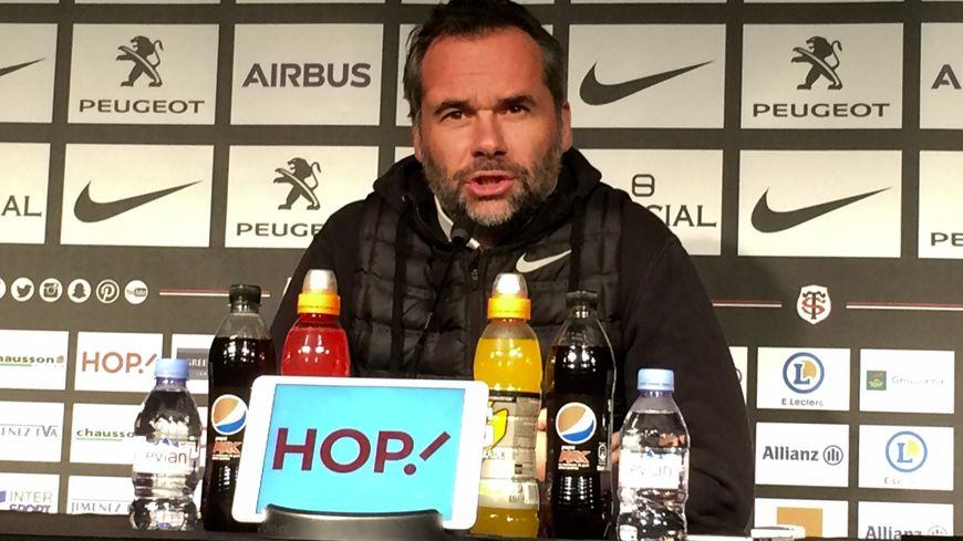 Ugo Mola s'est dit déçu pour Guy Novès lors de la conférence de presse avant la rencontre contre Toulon
