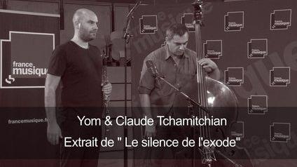 """Le clarinettiste Yom interprète un extrait de l'album klezmer """"Le Silence de l'exode"""", accompagné par le contrebassiste Claude Tchamitchian. Enregistré le 4 septembre 2014 au studio 107 de la Maison de la Radio, dans le cadre de la """"Matinale culturel"""