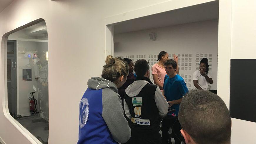 Les Dragonnes se sont retrouvées dans une salle de sport près de la gare de Metz