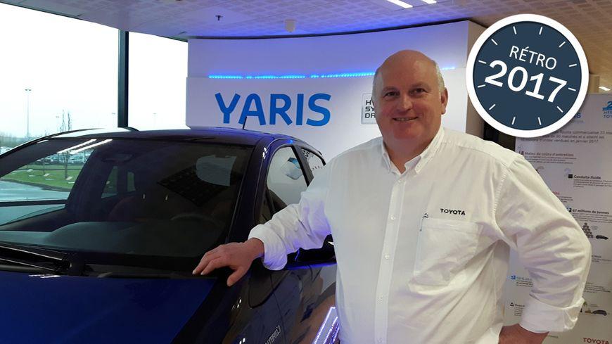 Luciano Biondo, le président de l'usine Toyota d'Onnaing