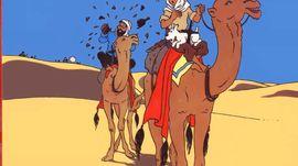 Nuit Tintin et le crabe aux pinces d'or, Par Philippe Garbit