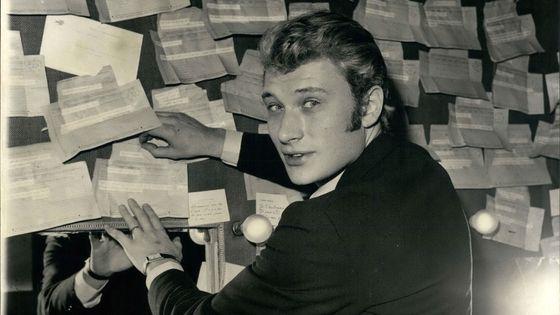 Martin Penet s'attache aux premières années de Johnny Hallyday, disparu le 6 décembre dernier