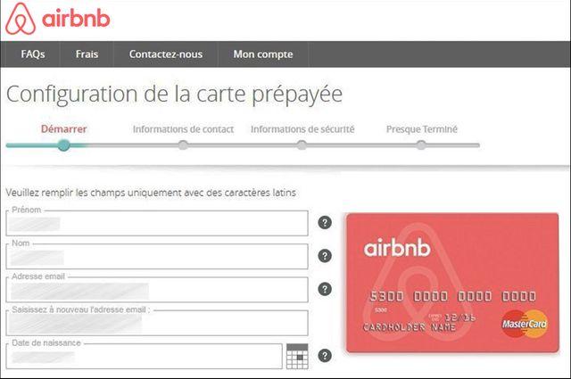Les loueurs peuvent souscrire à cette carte sur le site Airbnb