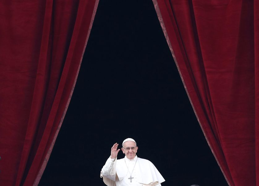 Le pape a appelé au respect du statu quo à Jérusalem.