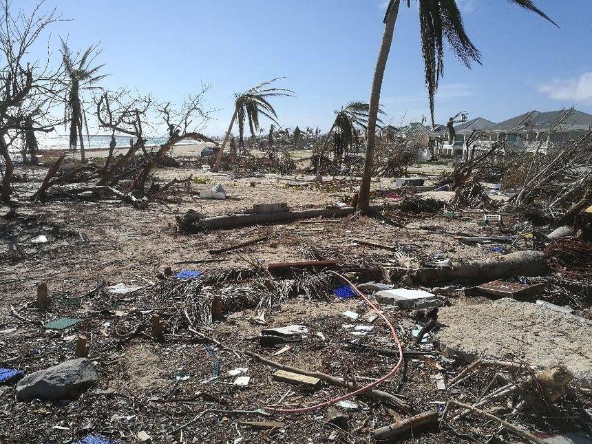 Les réservistes ont découvert une île dévastée à leur arrivée à Saint-Martin.