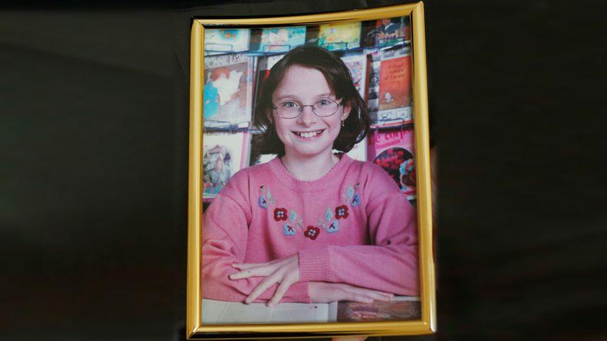 Une photo de Sophie Lionnet quand elle était plus jeune