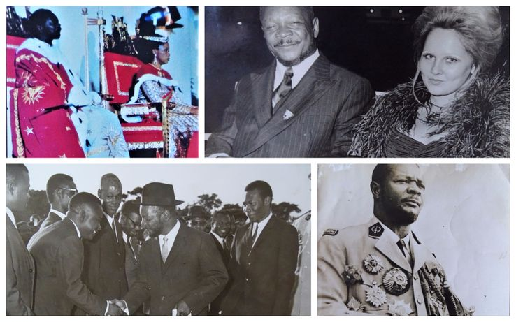 Photographies de Bokassa entre 1966 et 1979