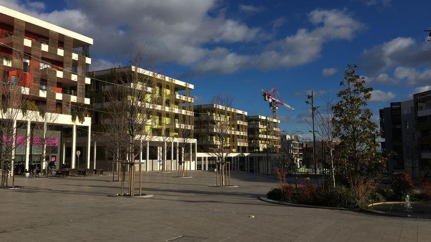 Le quartier Constellations, 1700 logements dans des immeubles à Juvignac.