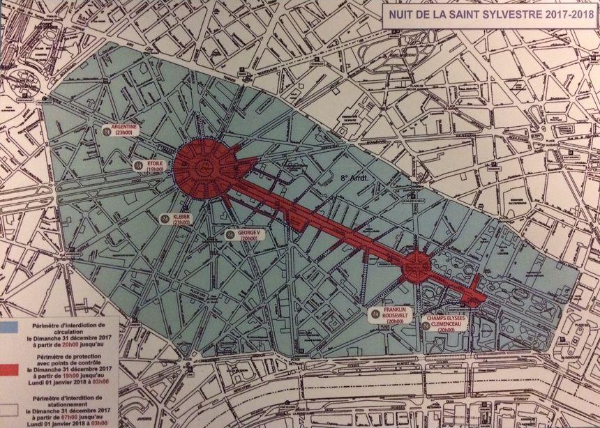 Les Champs-Elysées feront l'objet d'un dispositif de sécurité spécifique