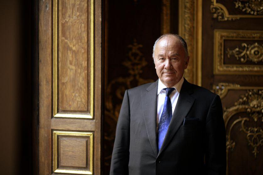 Gérard Lheritier, président et fondateur de l'Institut des Lettres et des Manuscrits et de la Société Aristophil