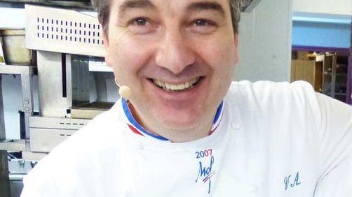 Vincent Arnould, chef étoilé du Vieux Logis à Trémolat.