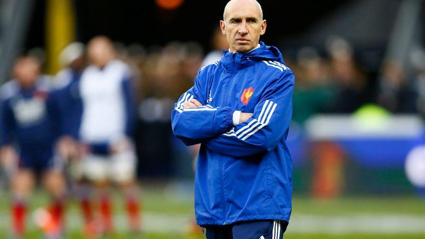 Patrice Lagisquet, sous les couleurs du XV de France sa dernière expérience du haut niveau, entraine désormais St Pée sur Nivelle en Fédérale 3