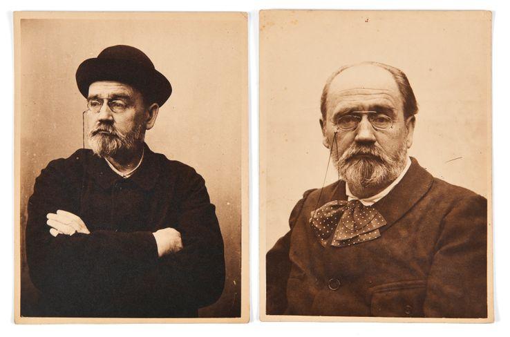 Emile Zola a réalisé de nombreux autoportraits à la fin de sa vie.