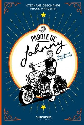 """Paroles de Johnny"" de Margerin et Deschamps (couverture)"