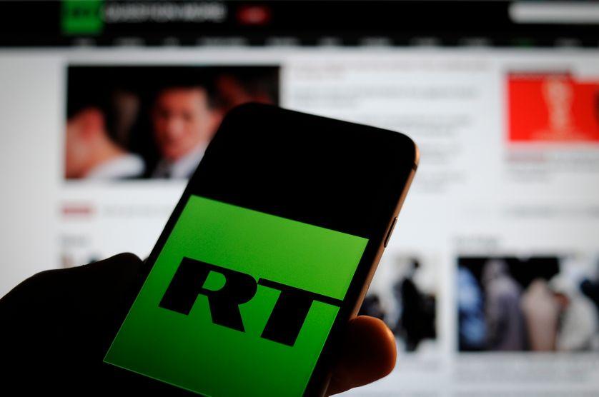 Le logo de Russia Today