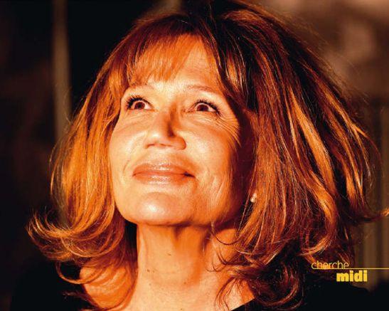 """Clémentine Célarié, couverture de son roman """"A la folie"""""""