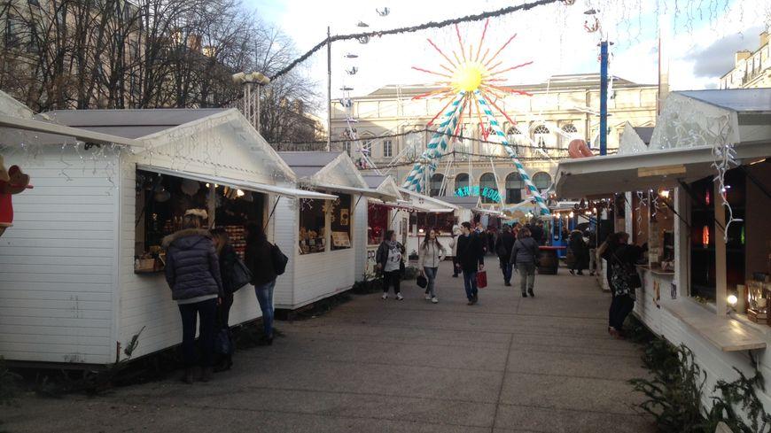 Le marché de Noël de Saint-Etienne immortalisé le 26 décembre 2017