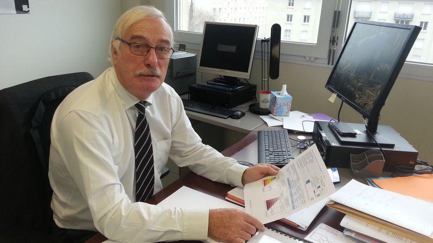 Alain Thomas, chargé de mission à l'office public de l'habitat du Cher.