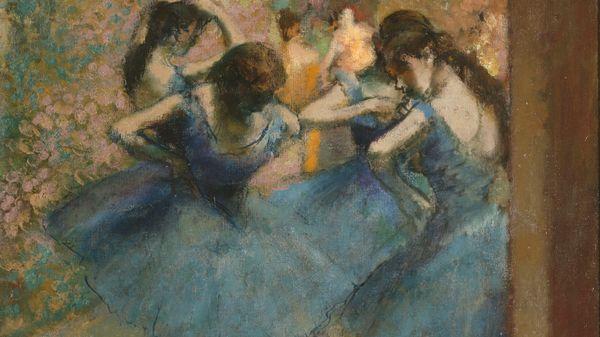 """Quelle musique voyez-vous sur le tableau : """"Danseuses bleues"""" d'Edgar Degas, vers 1890 ?"""