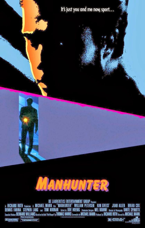 Affiche Manhunter de Michael Mann avec William Petersen