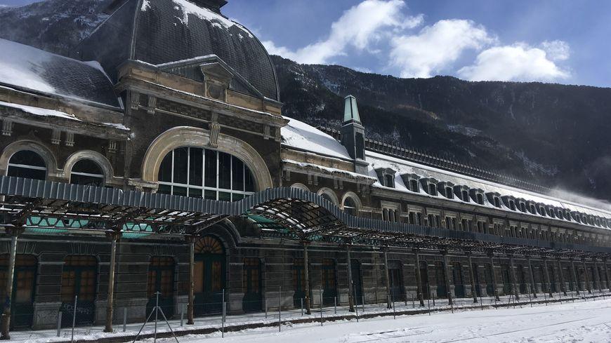La gare de Canfranc