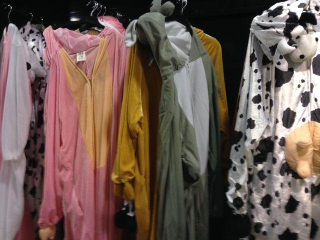 En moyenne, les clients dépensent une trentaine d'euros en déguisement