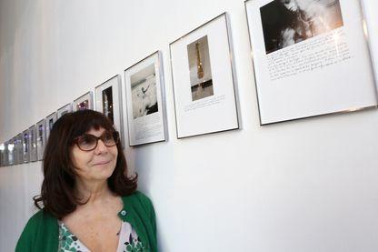 Sophie Calle en 2016 lors de l'exposition qui lui était consacrée au Théâtre Liberté