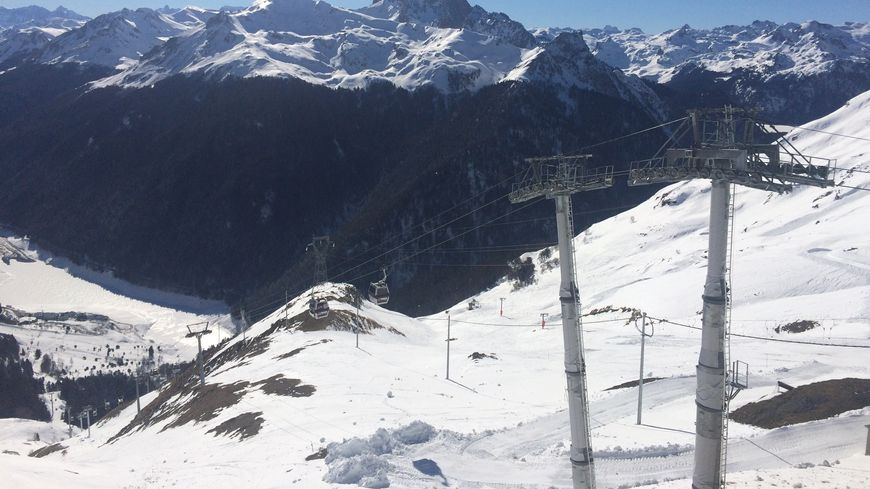 Le domaine skiable d'Artouste (photo d'archives)