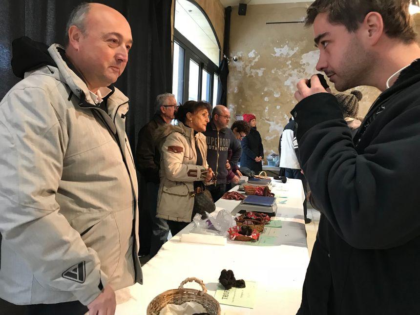 Les truffes vendues sur le marché de Sainte-Alvère ont été contrôlées avant par des commissaires
