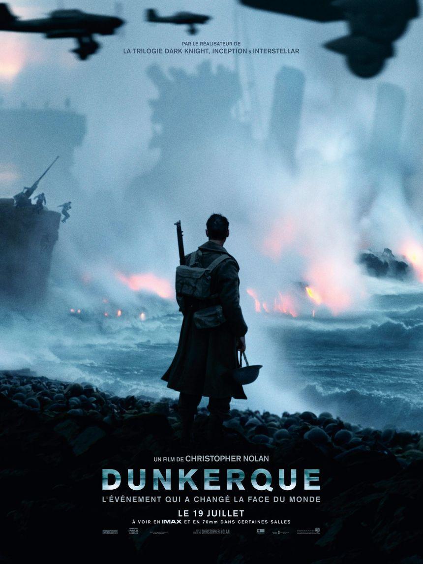 """""""Dunkerque"""", le film : 2,5 millions de spectateurs en France."""
