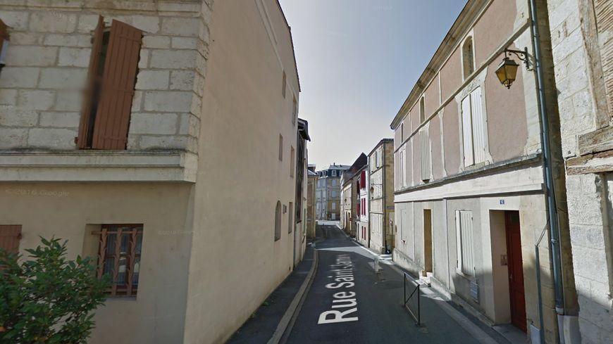 Rue Saint-James à Bergerac.