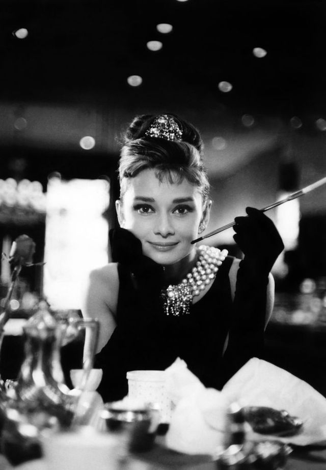 "Audrey Hepburn dans ""Breakfast at Tiffany's"", le film de Blake Edwards (1961)"